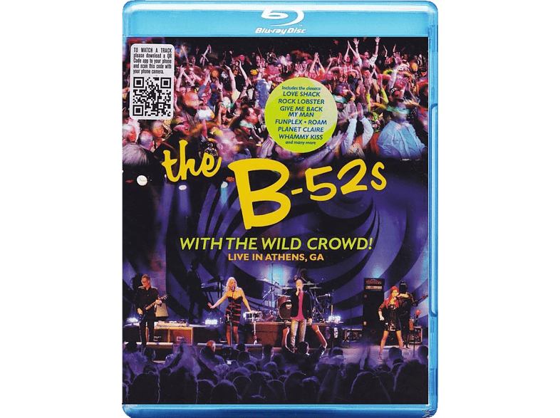 The B-52's - With The Wild Crowd! Live In Athens,Ga (Bluray) [Blu-ray]