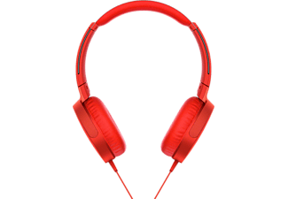 SONY MDR-XB550AP - Casque (On-ear, Rouge)