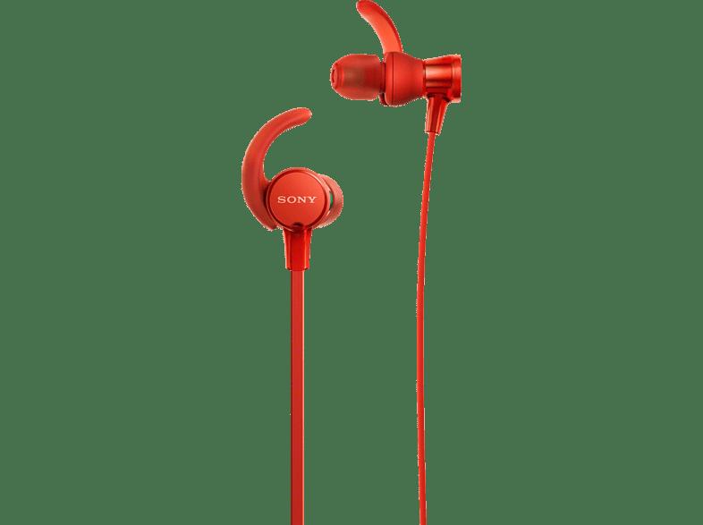 SONY MDR-XB510AS, In-ear Kopfhörer  Rot