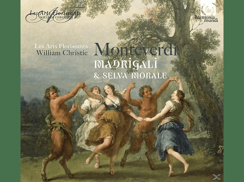 Les Arts Florissants - Madrigali & Selva Morale [CD]