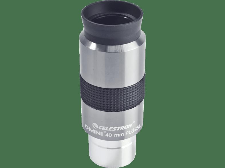 CELESTRON 810246 Omni 1.25 Zoll, 40mm Okular, Astronomie, Silber