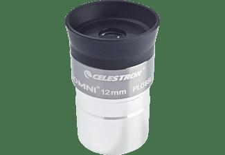 CELESTRON 810236 Omni 1.25 Zoll, 12 mm, Okular, Filterdurchmesser: 1,25 mm, Silber, passend für Teleskope mit 1.25 Zoll Okularanschluss