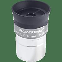 CELESTRON 810234 Omni 1.25 Zoll, 9 mm Okular, Astronomie, Silber