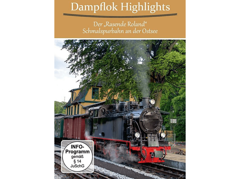 Dampf Highlights-Der Rasende Roland [DVD]