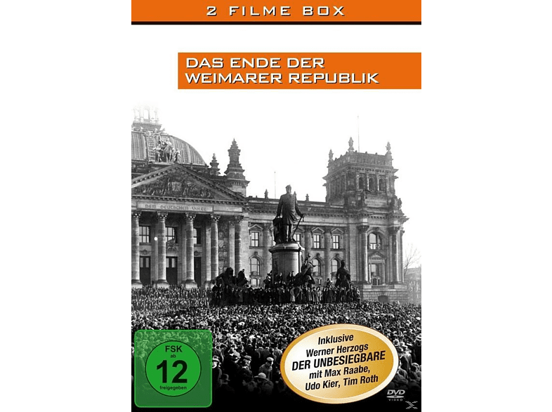 Das Ende der Weimarer Republik [DVD]