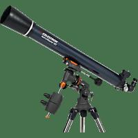 CELESTRON 822011 AstroMaster 90EQ 50x, 100x, 90 mm, Teleskop