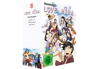 Love Hina Gesamtbox - (DVD)