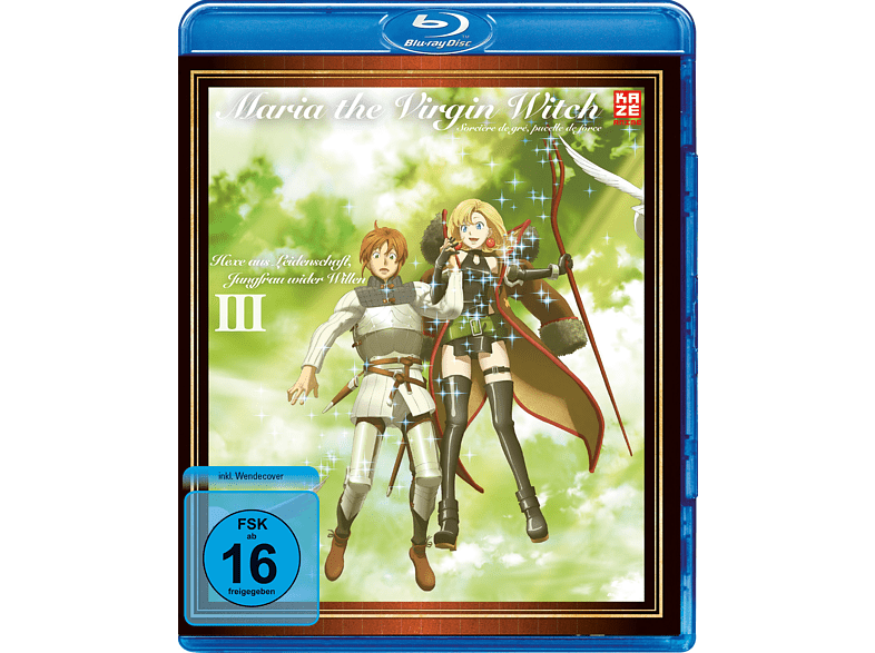 Maria The Virgin Witch - Vol. 3 [Blu-ray]