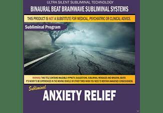 Binaural Beat Brainwave Subliminal Systems - Anxiety Relief  - (CD)