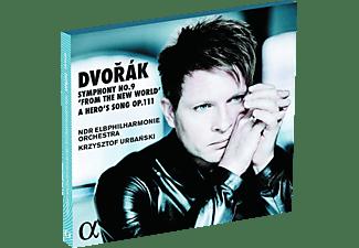 """Krzysztof Urbanski, Ndr Elbphilharmonie Orchestra - Sinfonie 9 """"Aus Der Neuen Welt""""/Heldenlied Op.  - (CD)"""