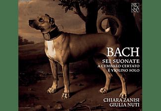 Chiara Zanisi, Giulia Nuti - Sonaten für Violine und Cembalo  - (CD)