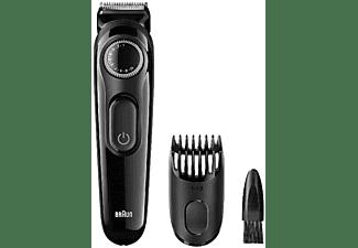 Barbero - Braun BT3020, Inalámbrico, 20 longitudes de corte, Indicador LED