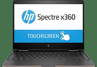 HP Spectre x360 (13-ac034ng), Convertible mit 13,3 Zoll Display, Core™ i7 Prozessor, 16 GB RAM, 1 TB SSD, HD-Grafik 620, Grau/Kupfer