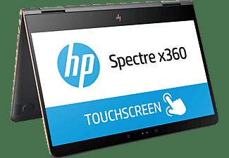 HP Spectre x360 (13-ac033ng), Convertible mit 13,3 Zoll Display, Core™ i7 Prozessor, 16 GB RAM, 512 GB SSD, HD-Grafik 620, Grau/Kupfer