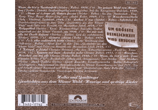 Heller/Qualtinger - Heurige + Gestrige Lieder [CD]