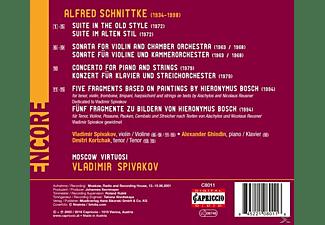 Vladimir Spivakov & Moscow Virtuosi - 5 Fragmente zu Bildern von H.Bosch/+  - (CD)