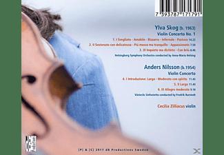 Zilliacus/Burstedt/Helsing/Västeras SO/Helsingborg - Zeitgenössische Violinkonzerte  - (CD)