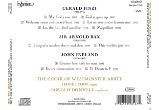 James O'Donnell, Daniel Cook, The Choir Of Westminster Abbey - Choralwerke  - (CD)