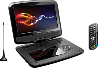 LENCO DVP-9413 Tragbarer DVD-Player, Schwarz