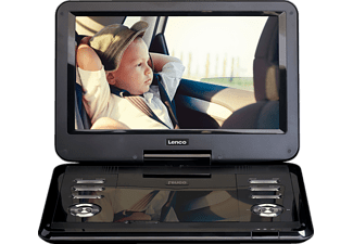 LENCO DVP-1210 Tragbarer DVD-Player, Schwarz
