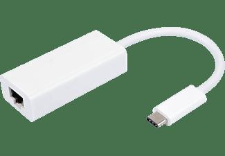 VIVANCO 34291 USB Adapter, Weiß