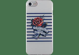 BIGBEN Jeanpaulgaultier, Backcover, Apple, iPhone 7, Weiß/Blau