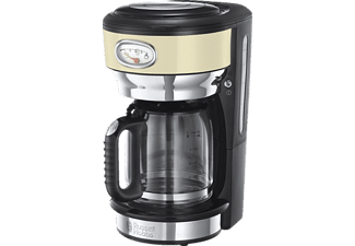 RUSSELL HOBBS 21702-56 Retro Vintage Cream  Kaffeemaschine Creme/Edelstahl