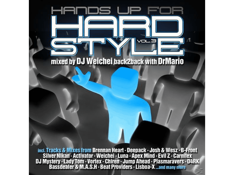 VARIOUS - Hardstyle, Hands Up For! Vol.3 [CD]