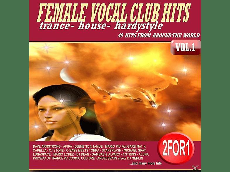 VARIOUS - FEMALE VOCAL CLUB HITS [CD]