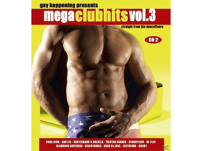 VARIOUS - GAY HAPPENING PRESENTS MEGA CLUBHITS 3 [CD]