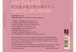 Aki Takase, David Murray - Serpentines  - (CD)