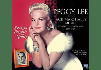 Peggy Lee - SWINGING BRIGHTLY & GENTLE  - (CD)