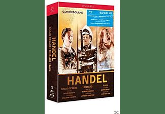 Glyndebourne Festival Opera - GIULIO CESARE/RINALDO/SAUL  - (Blu-ray)