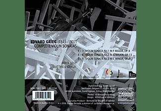 Maya Levy, Matthieu Idmtal - VIOLIN SONATAS  - (CD)