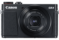 CANON PowerShot G9 X Mark II Digitalkamera Schwarz, 20.1 Megapixel, 3fach opt. Zoom, Touchscreen-LCD (TFT), WLAN