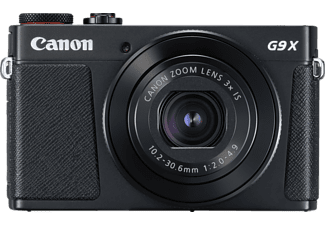 CANON PowerShot G9 X Mark II Digitalkamera Schwarz, 3fach opt. Zoom, Touchscreen-LCD (TFT), WLAN