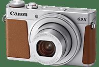 CANON Powershot G9 X Mark II Digitalkamera Silber/Braun, 20.9 Megapixel, 3x opt. Zoom, LCD (TFT), WLAN