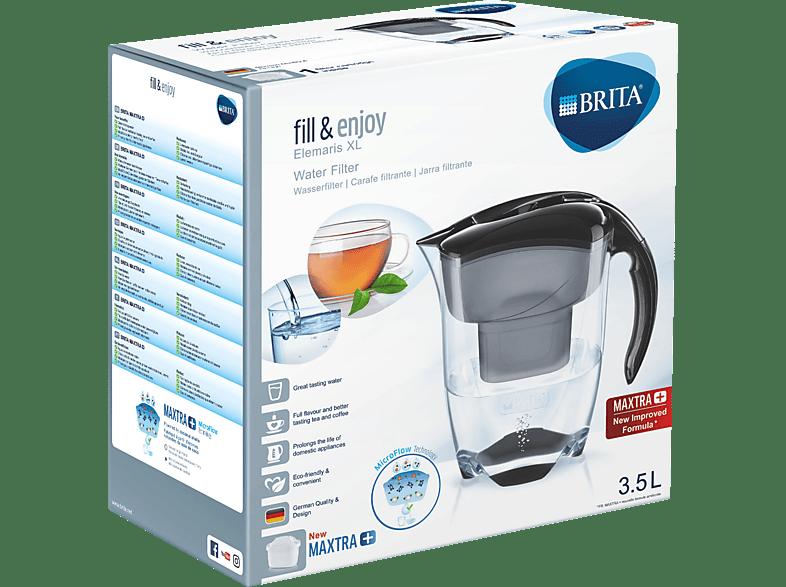 BRITA 076498 Elemarix XL Maxtra+ Wasserfilter, Schwarz