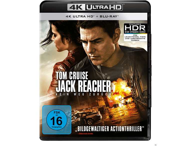 Jack Reacher-Kein Weg zurück [4K Ultra HD Blu-ray + Blu-ray]