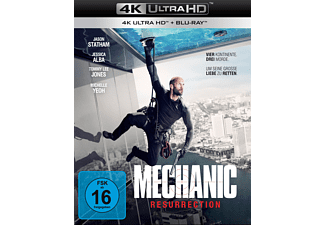 Mechanic: Resurrection 4K Ultra HD Blu-ray + Blu-ray