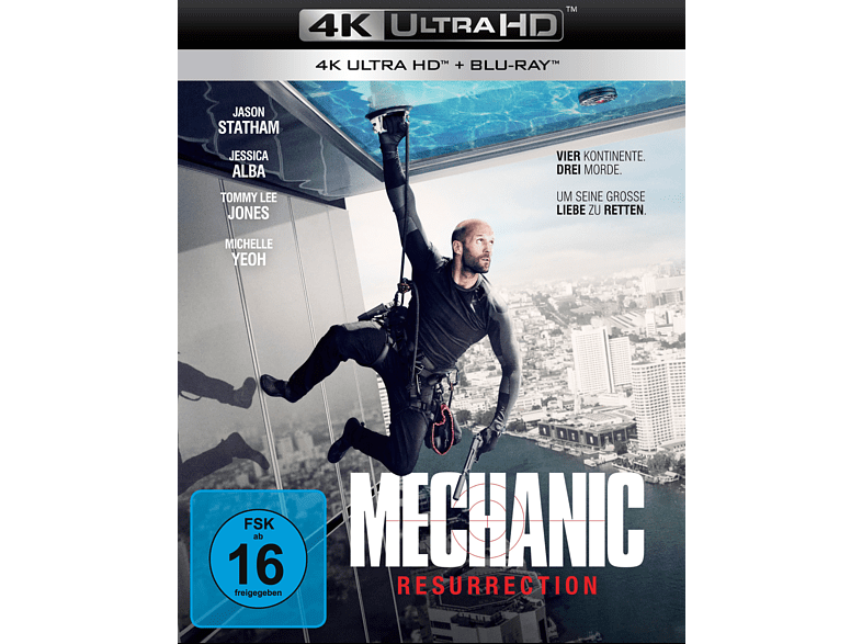 Mechanic: Resurrection [4K Ultra HD Blu-ray + Blu-ray]