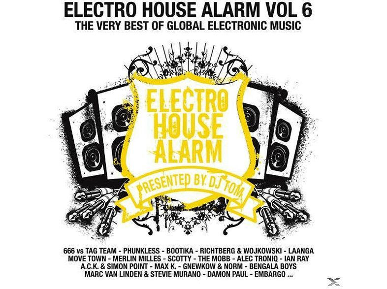 VARIOUS - Electro House Alarm Vol.6 [CD]
