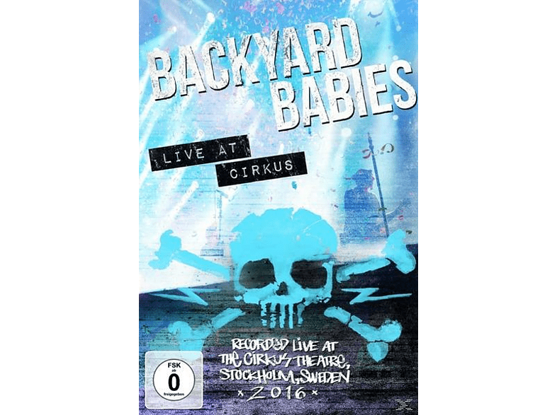 Backyard Babies - LIVE AT CIRKUS [Blu-ray]