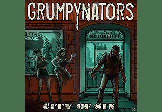 Grumpynators - City Of Sin  - (CD)