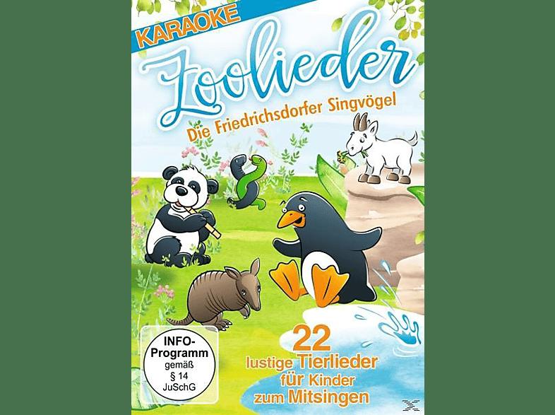 Zoolieder - Die Friedrichsdorfer Singvögel - 22 lustige Tierlieder für Kinder zum Mitsingen [DVD]