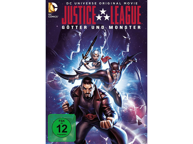 Justice League: Götter und Monster [Blu-ray]