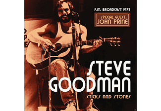 Steve ft. John Prine Goodman - Sticks And Stones  - (CD)