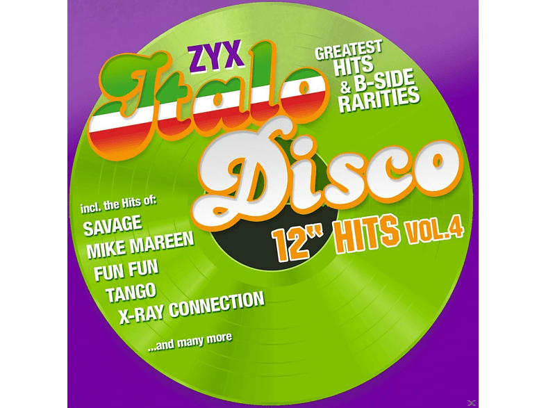 "VARIOUS - ZYX Italo Disco 12"" Hits Vol.4 [CD]"