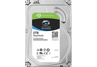 SEAGATE NAS Festplatte 2TB HDD Iron Wolf 5900rpm 6Gb/s SATA 64MB (ST2000VN004)