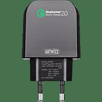 ARTWIZZ PowerPlug Ladegerät Universal, Schwarz